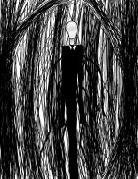 The Slender Man by moxgoth