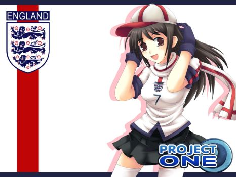 England Go ProjectONE by maxwindy