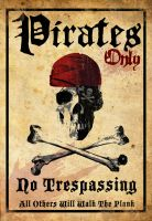 Pirates Only by capdevil13