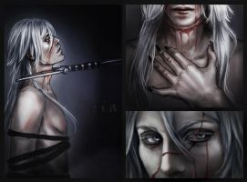 Undertaker's scars by CocaineJia