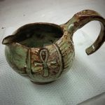 Egyptian-style pitcher
