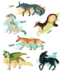 Weird Dogs - SOLD by Susiron