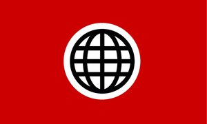 Nazi Flag of the United Nations by 3D4D