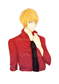 Commission: Hiroshi for Code-Mafia by Heurim