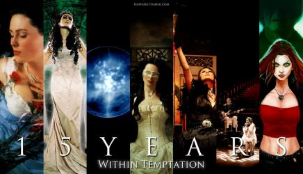 15 Years of Within Temptation by crystalfalls