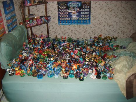My Skylanders (Imaginators) so far by SuperSmashCynderLum