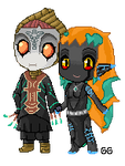 .:Gift:. Zant and Ellise by Anilede