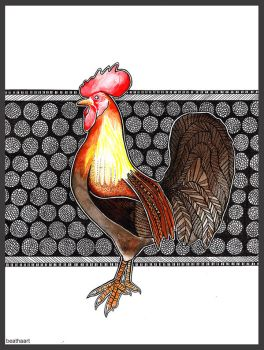 Rooster by beathaart