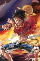 OP_Luffy by zzyzzyy