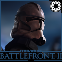Star Wars Battlefront 2 - Phase II Clone Trooper by Yare-Yare-Dong