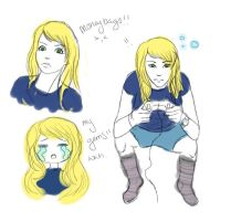 sucky intense gaming doodles by UndertakerisEpic
