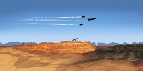 Old desert fly by by EOTB