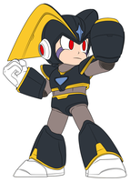Smash Bros Mega Man Alt Costume Suggestion 2 by JusteDesserts