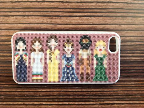 Wheel of Time Phone Case: Women of the Light by polegnyn