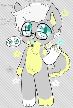 Solar Ray Mini Reference Sheet by Lovesome-Stars