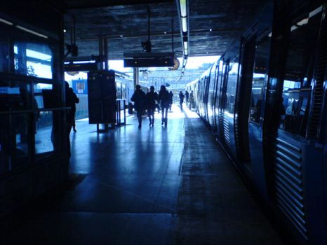 Station Blue by Maraja156
