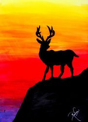 A Wounded Deer leaps the highest ! by Madhur-Goyal