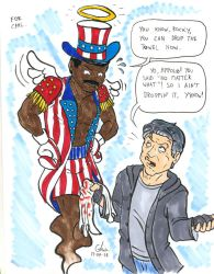 Montreal Comiccon 2014: Carl Weathers by BD-Ghis