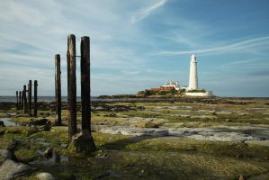 St Mary's Lighthouse by Pygar