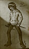 Jeff The Killer  'Old Book Page' by DerseDragon