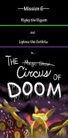 M6 - The Circus of Doom - Cover Page by Galactic-Rainbow