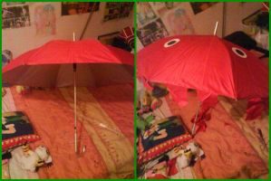 Perona umbrella (not finished) by LuffySwan