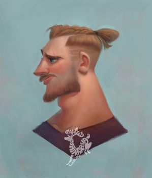 Man Braid by Ardinaryas