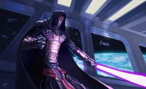 Star Wars - Darth Revan by DarthPonda