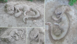 .:DTA:. Bagbean Sand sculpture by Ne-chi