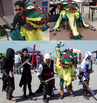 Dragoncito Softcombat Quetzi by MaryDKidd