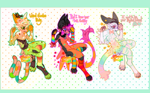 Vullowisp RAINBOW Auction(AB ADDED)(3 hours left) by MoggieDelight