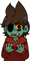 Zombie Tord by Damian-Fluffy-Doge