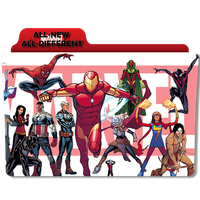 All-New, All-Different Marvel by DCTrad