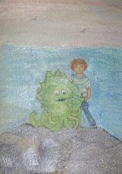 VV 205 Remembering Sigmund And The Sea Monster by handylight