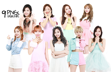 TWICE PNG Pack {Lost Tale} HD by soshistars