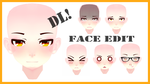Face Edit//MosterNight-MMD//DL! by MosterNighT-MMD