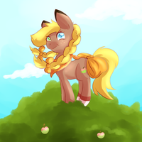 Sweet Apple by Heise-kun