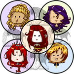 OC Buttons Part 1 by kuroitenshi13