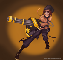 Coco Adel by hearts-and-pins