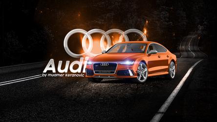 AUDI WALLPAPER by muamerART