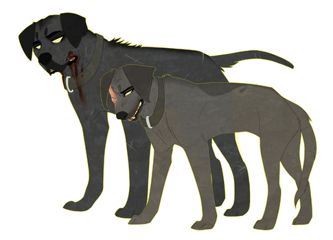 GoT: The Clegane Dogs by DoctorCritical