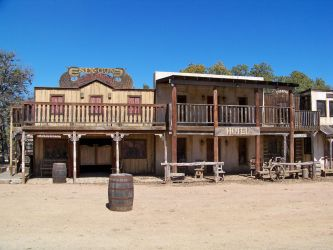37 wild west town by dragon-orb