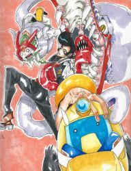 space dandy baby. by Kittywolfz