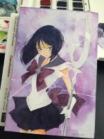 Sailor Saturn by happykuri