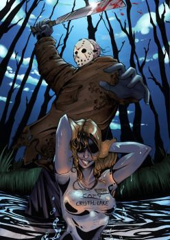 Friday the 13th - color version by Tiger-Lilyy