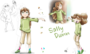 Character Concept #2: Sally Dunn by MissyMeghan3