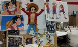 Luffy from One Piece Sculpture by Speezi