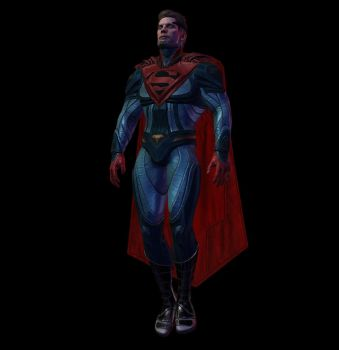 XNALara - Injustice Mobile: Injustice 2 Superman by CapLagRobin
