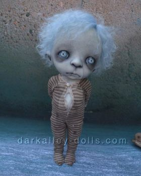 BJD Gothic Art Doll Clover #4/4 by VeronikaLozovaya