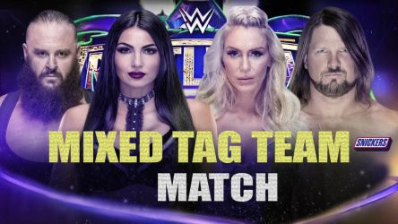 Wrestlemania 34 Match 1 by BLACKrangers123